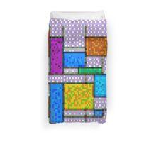 Mondrian Pixelate Duvet Cover