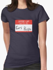 Carl Poppa. Womens Fitted T-Shirt