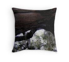 dangling moss Throw Pillow