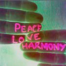 peace, love, harmony by TigerAmee