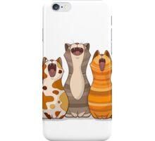 Cat's singalong iPhone Case/Skin