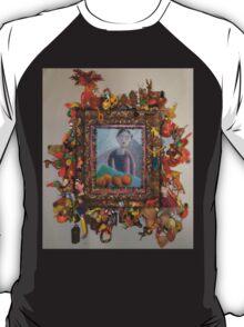 Levitating Oranges Of Borneo - Framed T-Shirt