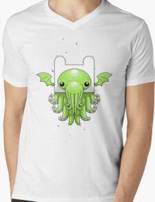 Finn Cthulhu Mens V-Neck T-Shirt