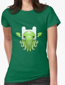 Finn Cthulhu Womens Fitted T-Shirt