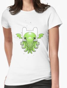 Finn Cthulhu Womens Fitted T-Shirt