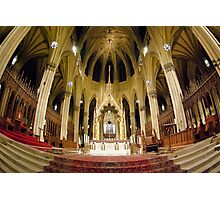 The Alter at St Patricks Cathedral in New York City Photographic Print