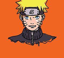 Naruto Shippuden - Naruto Minimal by MBettsdesign