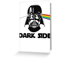 dark side Greeting Card