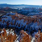 Bryce Point - Panorama by Stephen Beattie