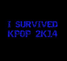 I SURVIVED KPOP 2K14 ROUGH - BLACK by CynthiaAd