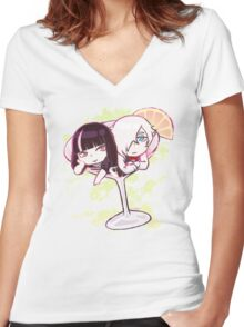 Decim and Onna Cocktail Women's Fitted V-Neck T-Shirt