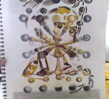 Galatea of the Spheres (Salvador Dali) copy by blackindi1974