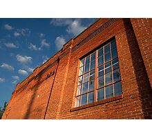 Brick Building Photographic Print