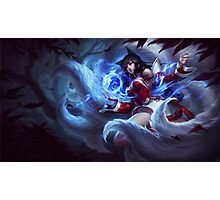 Ahri - New SplashArt Photographic Print