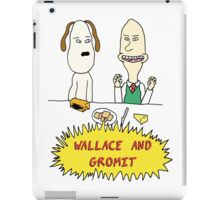 Wallace and Butthead iPad Case/Skin