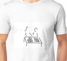Meeting editorial staff editorial office newspaper Unisex T-Shirt