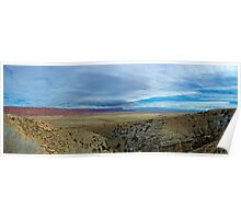 Vermilion Cliffs - Panorama Poster