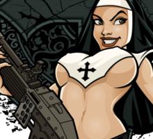 Warrior Nun Sticker
