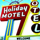 Holiday Motel by gail anderson