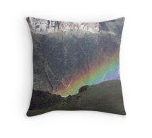 Grand Canyon Rainbow Throw Pillow
