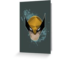 Project X - Wolverine Greeting Card