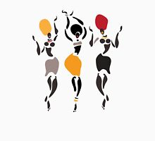 African dancers silhouette. T-Shirt