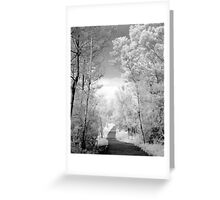 Path to Nowhere? Greeting Card