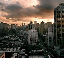 Atardecer NYC by JimmyNavarro