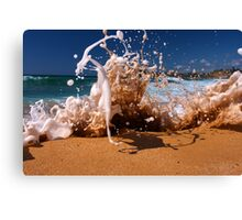 King High Tide / Mona Vale Canvas Print