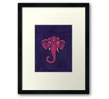 Elephant. Lord Ganesha.  Framed Print