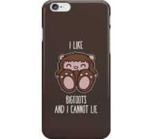 Bigfoots iPhone Case/Skin