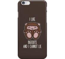 Bigfoots iPhone Case/Skin