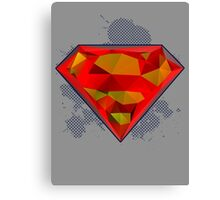The Man of Steel - Superman Canvas Print