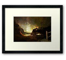 Oregon Beach Framed Print