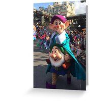 The Dwarfs Greeting Card