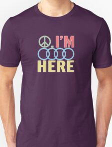 Peace, I'm Outa Here Unisex T-Shirt