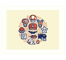 Mario Essentials Art Print