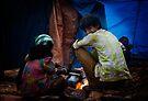 Akshay - Staying Warm by Vikram Franklin