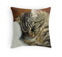 Maggie - Cats Life Throw Pillow
