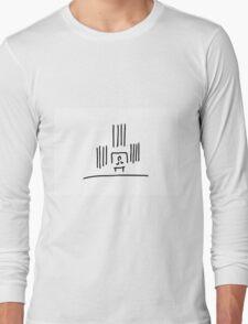 organist organ pipes in church music Long Sleeve T-Shirt