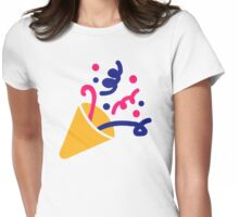 Party fireworks Womens Fitted T-Shirt