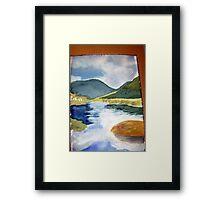 tidal river 1 Framed Print