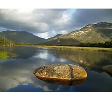 classic photo of Tidal river  Photographic Print