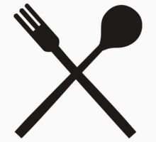 Cutlery spoon fork by Designzz