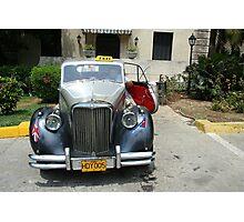 Cuban Taxi Photographic Print