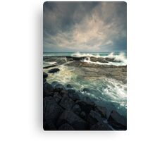 The day of the storm Canvas Print