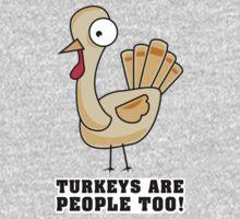 Turkeys are people too! by tiffatron