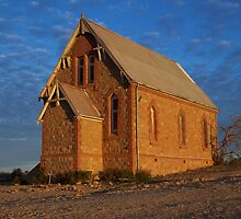 Raw Sandstone and God - Silverton NSW by Scott Westlake