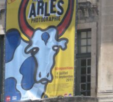 ARLES THE CITY OF BULLS - FRANCE Sticker