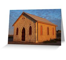 House of God - Silverton NSW Greeting Card
